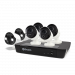 6 Camera 8 Channel 4K Ultra HD NVR Security System