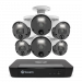 Master Series 6 Camera 8 Channel NVR Security System (Plain box packaging) (Online Exclusive)
