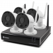 4 Camera 4 Channel 1080p Wi-Fi NVR Security System
