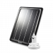 Outdoor Solar Panel with Outdoor Mount Stand for Wire-Free Security Cameras