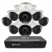 8 Camera 8 Channel 4K Ultra HD NVR Security System (Plain Box Packaging) (Online Exclusive)