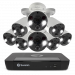8 Camera 8 Channel 4K Ultra HD NVR Security System