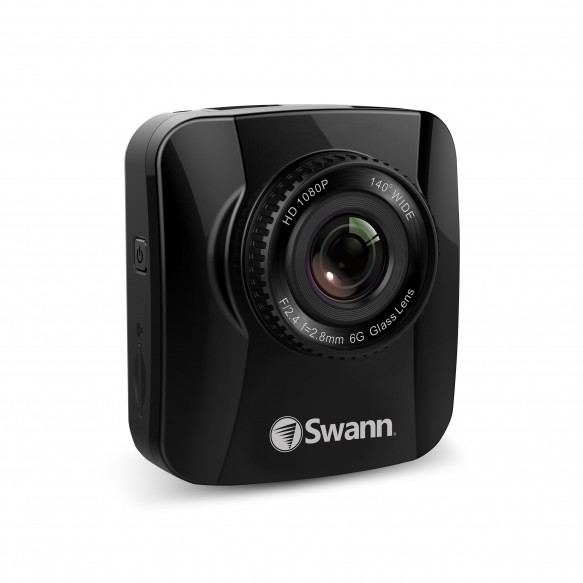 SWADS-140DCM Navigator HD Dash Camera - 1080p Portable Vehicle Recorder with GPS Tracking -