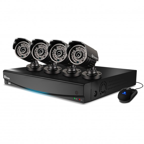 SWDVK-434254S DVR4-3425 4 Channel 960H Digital Video Recorder & 4 x PRO-735 Cameras -