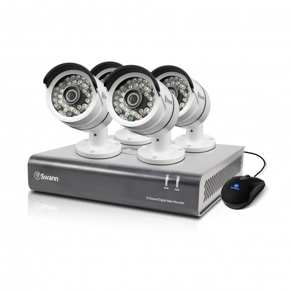 SWDVK-846004 DVR8-4600 - 8 Channel 1080p Digital Video Recorder & 4 x PRO-A855 Cameras -