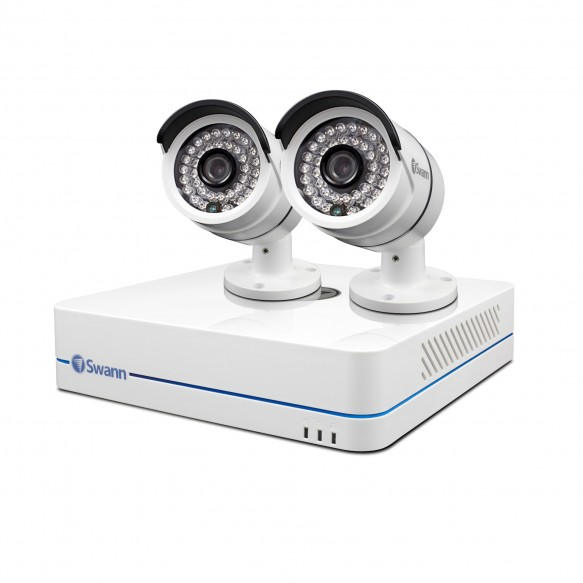 SWNVK-470852 NVR4-7085 4 Channel 720p Network Video Recorder & 2 x NHD-806 Cameras -