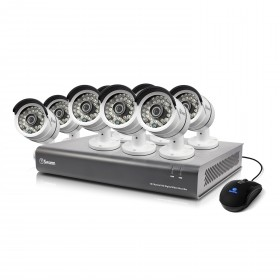 DVR16-4600 16 Channel 1080p Digital Video Recorder & 8 x PRO-A855 Cameras