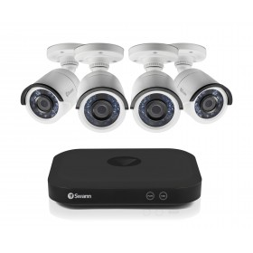 Swann 8 Channel Security System: 5MP Super HD DVR with 2TB HDD & 4 x 5MP Bullet Cameras