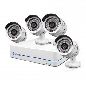 NVR8-7085 8 Channel 720p Network Video Recorder & 4 x NHD-806 Cameras
