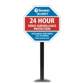 Yard Stake - Security Deterrent & Warning Sign