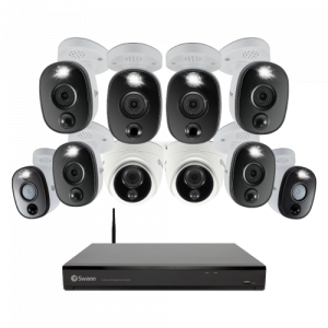 COD16-55802D8WLWF 10 Camera 16 Channel 4K Ultra HD DVR Security System -