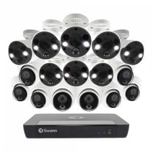 CONV16-86808D8FB 16 Camera 16 Channel 4K Ultra HD NVR Security System -