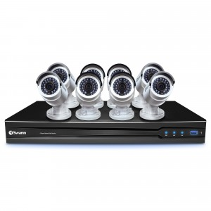 CONV8-B3MP8C 8 Channel HD NVR Security System with 8 x 3MP HD Cameras -