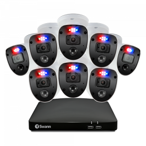 SWDVK-846808SL Enforcer 8 Camera 8 Channel 1080p Full HD DVR Security System -