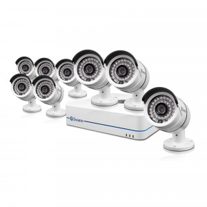 NVR8-7085 8 channel 720p NVR DVR security system view 1