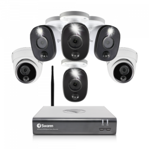 SODVK-845804B2DWF 6 Camera 8 Channel 1080p Full HD DVR Security System -