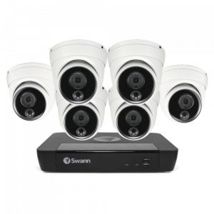 SONVK-886806D-US 6 Camera 8 Channel 4K Ultra HD NVR Security System -