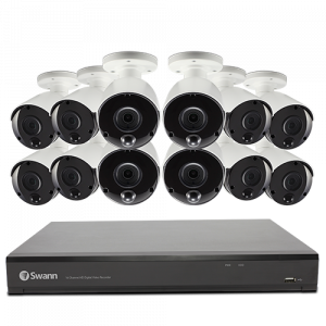 CODV16-558012 12 Camera 16 Channel 5MP HD DVR Security System   -