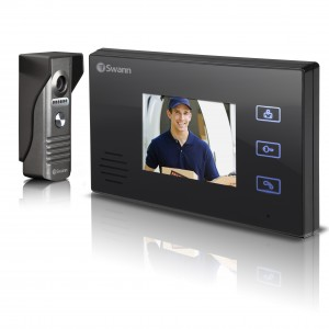 "wireless doorbell intercom with 3.5"" LCD monitor view 7"