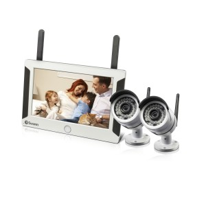 NVW-470 wifi 720p HD security system & 2 security cameras view 1