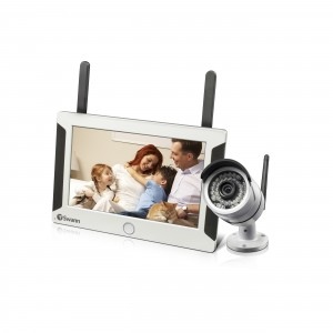 NVW-470 Wifi HD surveillance system with security cameras view 1
