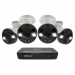 4 Camera 8 Channel 4K Ultra HD NVR Security System