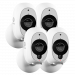 Wire-Free Smart Security Camera 4 Pack