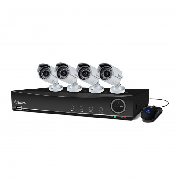 SWDVK-841004A DVR8-4100 8 Channel 960H Digital Video Recorder & 4 x PRO-842 Cameras -