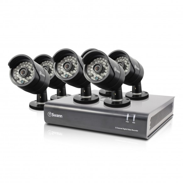 SWDVK-846006 DVR8-4600 - 8 Channel 1080p Digital Video Recorder & 6 x PRO-A855 Cameras -