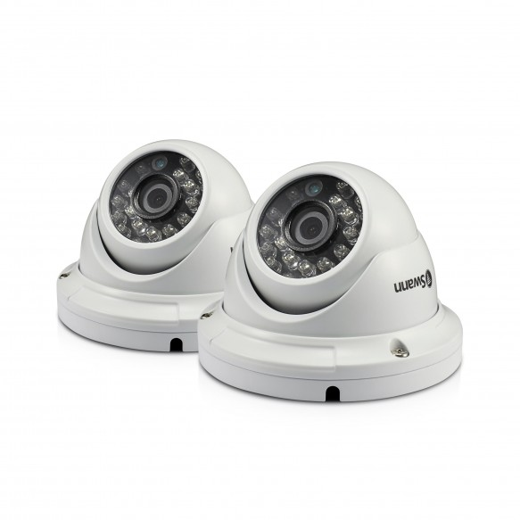 SWPRO-A856PK2 PRO-A856 - 1080p Multi-Purpose Day/Night Dome Security Camera - Night Vision 100ft / 30m - 2 Pack -