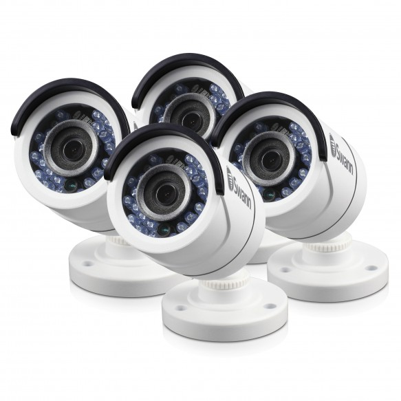 SRPRO-T852WB4 PRO-T852 - 1080P Multi-Purpose Day/Night Security Camera - Night Vision 100ft / 30m - 4 Pack Bundle (Plain Box Packaging) -