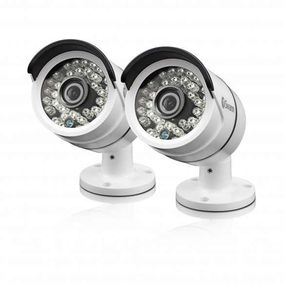 SWPRO-A855PK2 PRO-A855 - 1080p Multi-Purpose Day/Night Security Camera - Night Vision 100ft / 30m - 2 Pack -