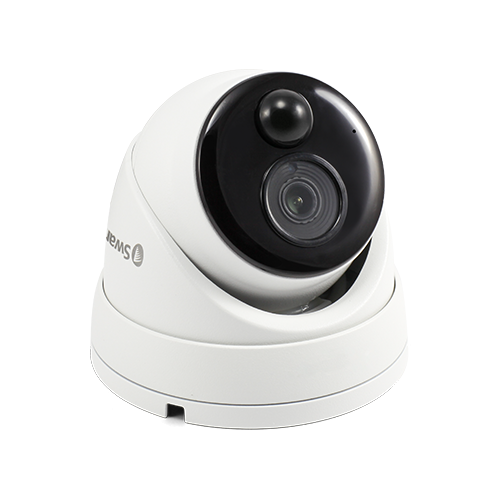 NHD-886MSD 4K Ultra HD Thermal Sensing Dome IP Security Camera