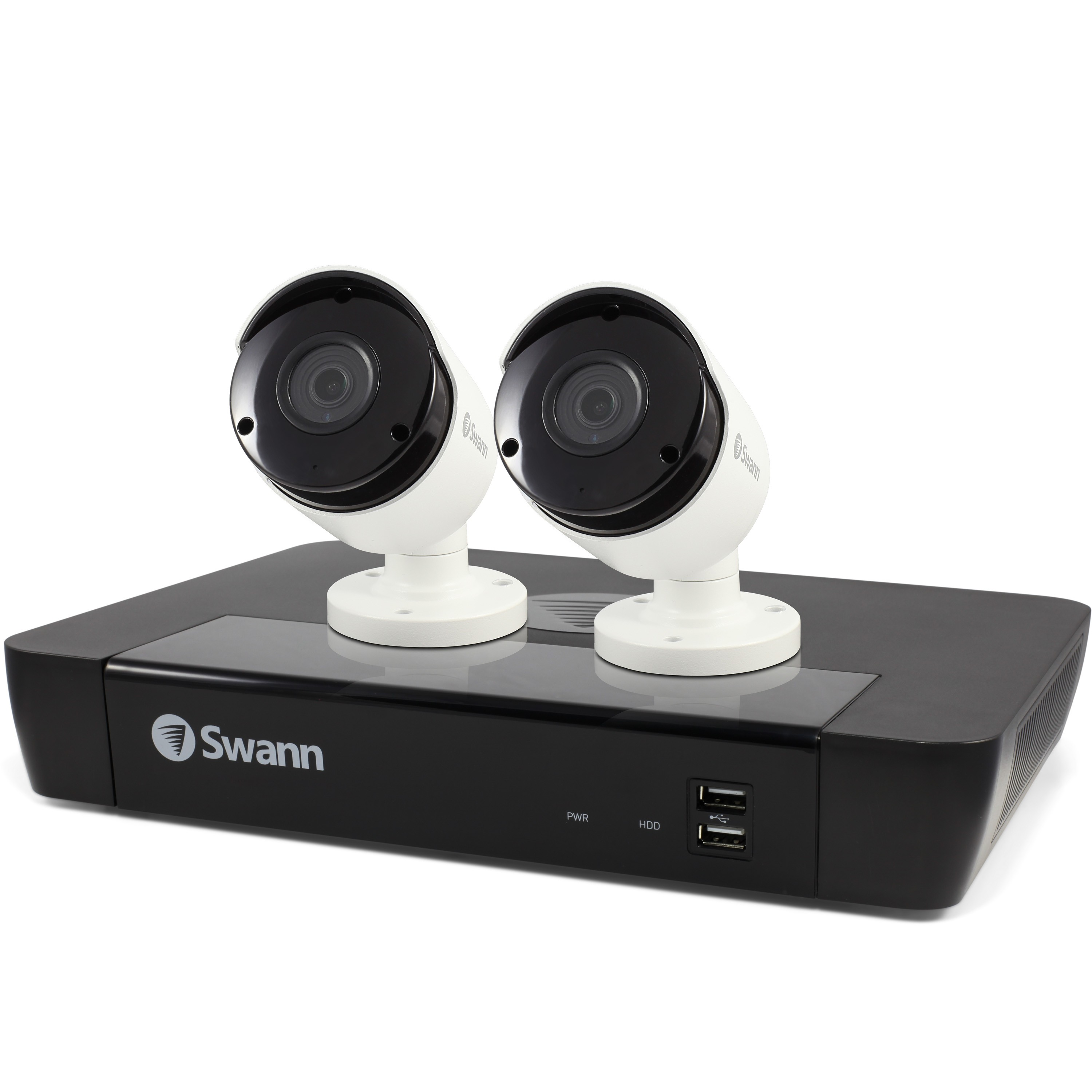 SWNVK-474502 Swann 4 Channel Security System: 5MP Super HD NVR-7450 with 1TB HDD & 2 x 5MP NHD-855 Bullet Cameras -