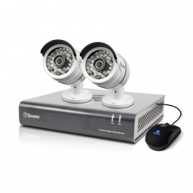 DVR4-4600 - 4 Channel 1080p Digital Video Recorder & 2 x PRO-A855 Cameras