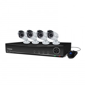 DVR8-4100 8 Channel 960H Digital Video Recorder & 4 x PRO-842 Cameras