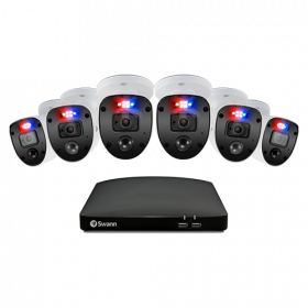 Enforcer 6 Camera 8 Channel 1080p Full HD DVR Security System
