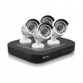 DVR8-4750 8 Channel 3MP HD Digital Video Recorder & 4 x PRO-T858 Cameras