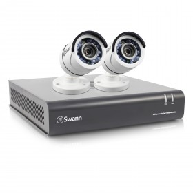 DVR4-4550 4 Channel 1080p Digital Video Recorder with 2 x PRO-T853 Cameras