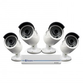 NVR8-7285 8 Channel 1080p Network Video Recorder & 4 x NHD-810 Cameras