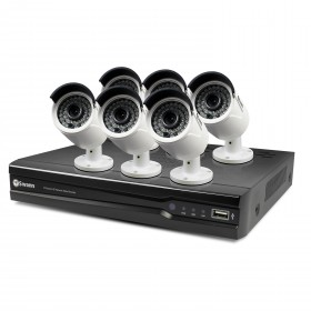 NVR8-7400 8 Channel 4MP Network Video Recorder & 6 x NHD-818 4MP Cameras