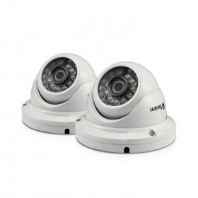 PRO-A856 - 1080p Multi-Purpose Day/Night Dome Security Camera - Night Vision 100ft / 30m - 2 Pack