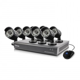 DVR16-4400 - 16 Channel 720p Digital Video Recorder & 8 x PRO-A850 Cameras