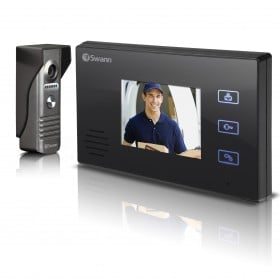 "Doorphone Video Intercom With Colour 3.5"" LCD Monitor"