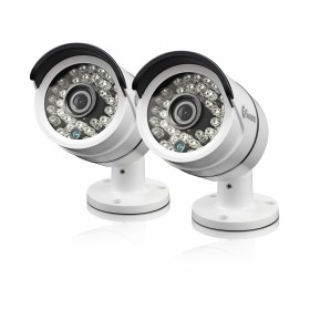 Swann Outdoor Security Cameras 2 Pack: 1080p Full HD Bullet with IR Night Vision - PRO-H855