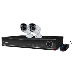 SWDVK-441002A DVR4-4100 4 Channel 960H Digital Video Recorder & 2 x PRO-842 Cameras -