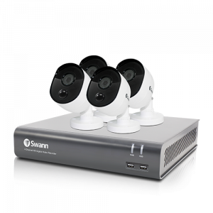 SWDVK-445804V 4 Camera 4 Channel 1080p Full HD DVR Security System  -