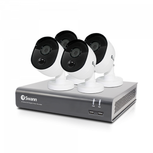 SWDVK-845804V 4 Camera 8 Channel 1080p Full HD DVR Security System -