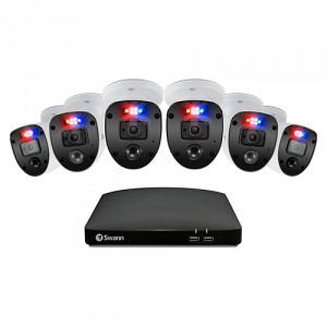SWDVK-846806SL Enforcer 6 Camera 8 Channel 1080p Full HD DVR Security System -
