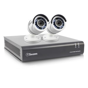 SWDVK-445502 DVR4-4550 4 Channel 1080p Digital Video Recorder with 2 x PRO-T853 Cameras -